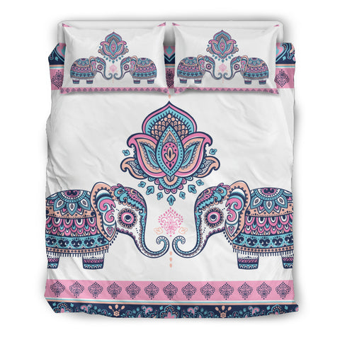 Mandala Elephant 6 Bedding Set.  - Nichefamily.com