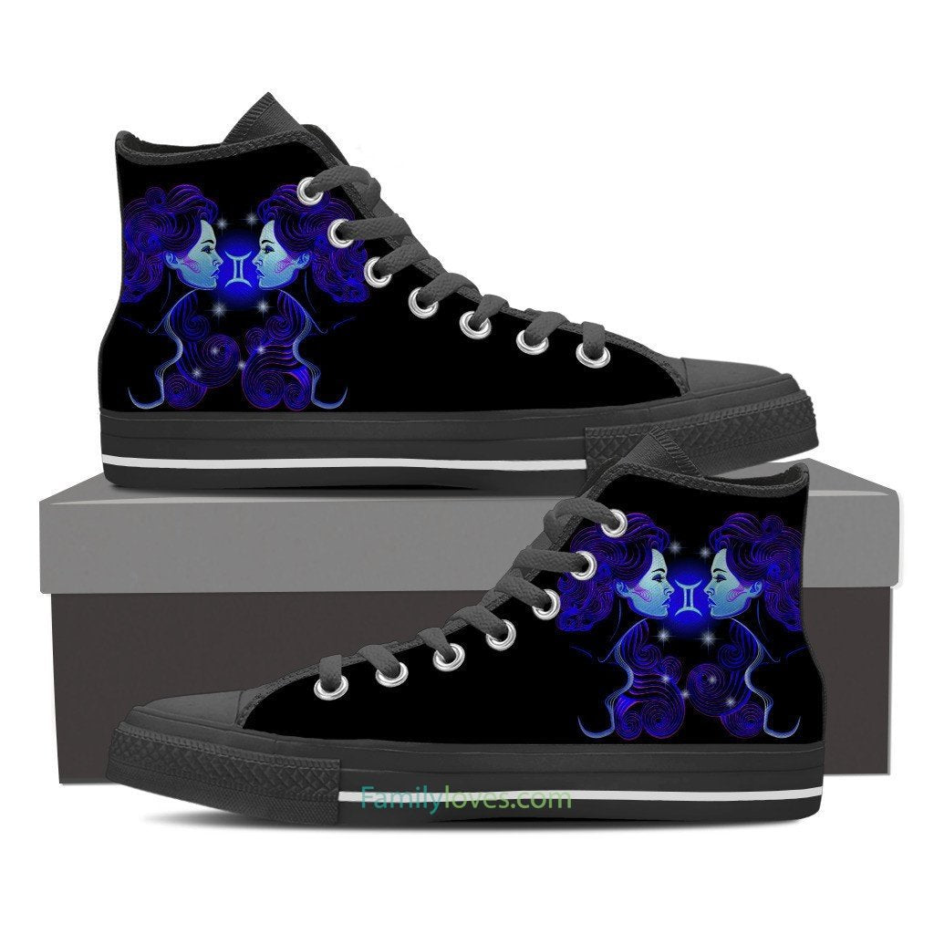 Buy GEMINI HIGH SHOES - Familyloves hoodies t-shirt jacket mug cheapest free shipping 50% off