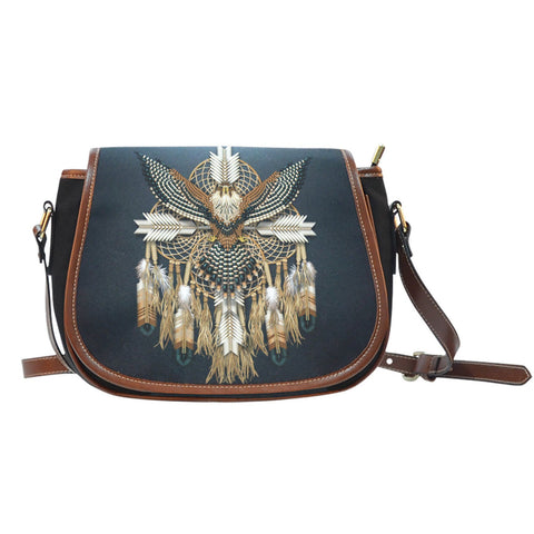 NATIVE AMERICAN DREAMCATCHER SADDLE BAGS  bag, carthook_checkout, NATIVE, NATIVE AMERICAN DREAMCATCHER BAGS, SADDLE BAGS- Nichefamily.com