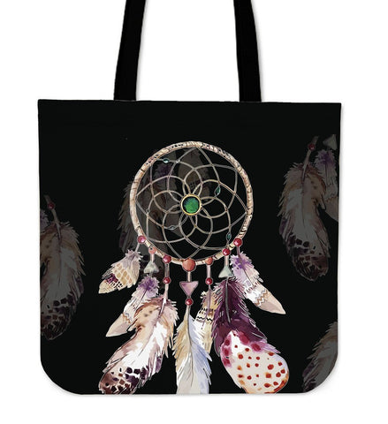 Native American Dreamcatcher Tote Bags  bag, Bags, carthook_checkout, Native, tote bag, Tote Bags- Nichefamily.com
