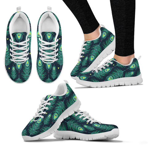 Feathers Women`s Sneakers  - Nichefamily.com