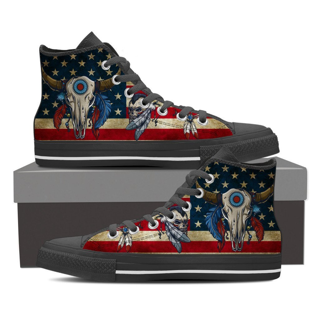 Buy Native american shoes sneakers for Men - Familyloves hoodies t-shirt jacket mug cheapest free shipping 50% off