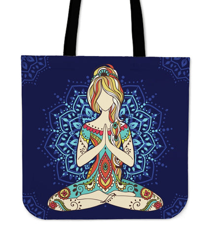 I Love Yoga Tote Bags  Bag, Bags, carthook_checkout, tote bag, Tote Bags, yoga- Nichefamily.com