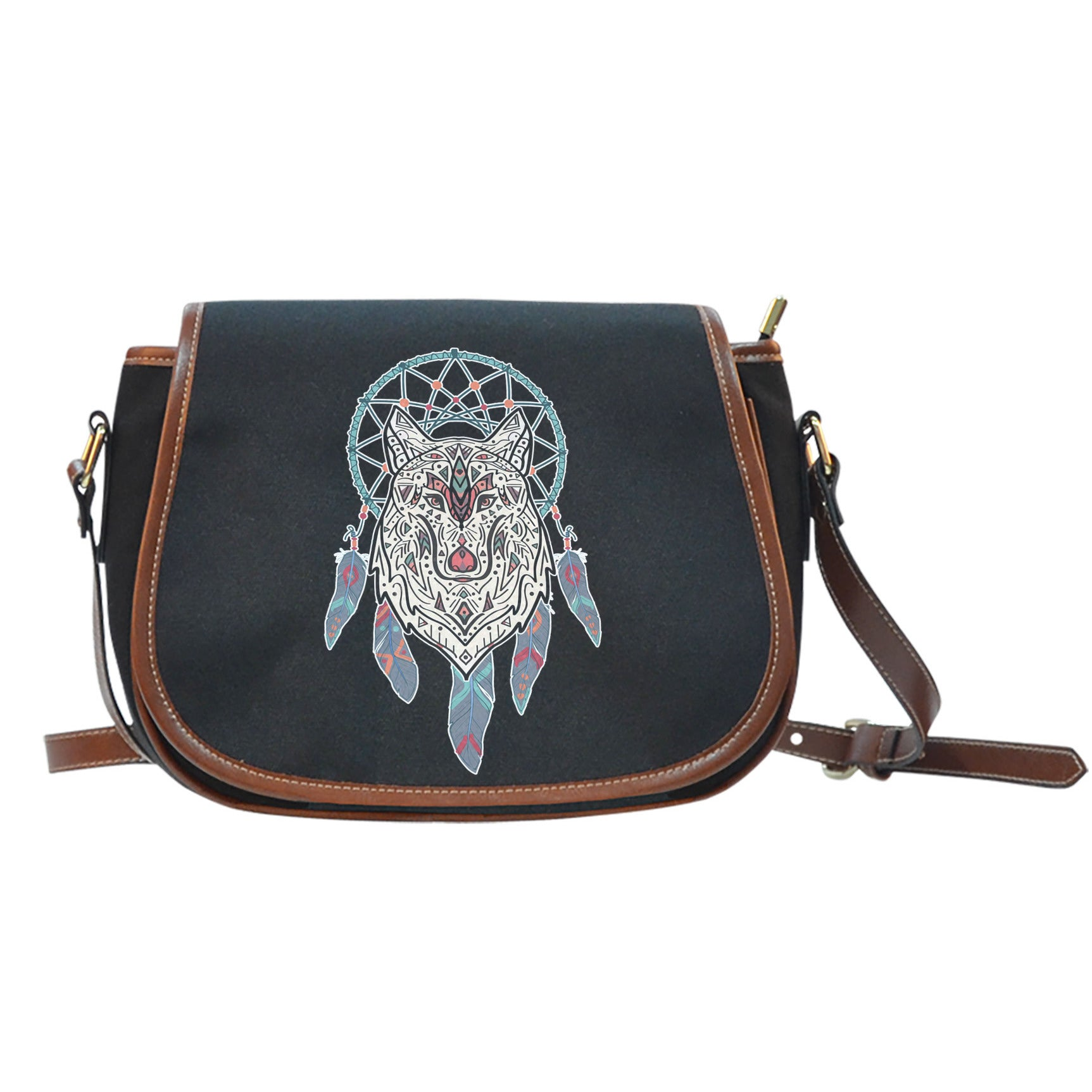 NATIVE DREAMCATCHER SADDLE BAG