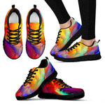 Colorful Psychedelic Art HandCrafted Sneakers  - Nichefamily.com