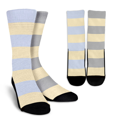 Strip-Classic-Combo-B-001 Crew Socks  - Nichefamily.com