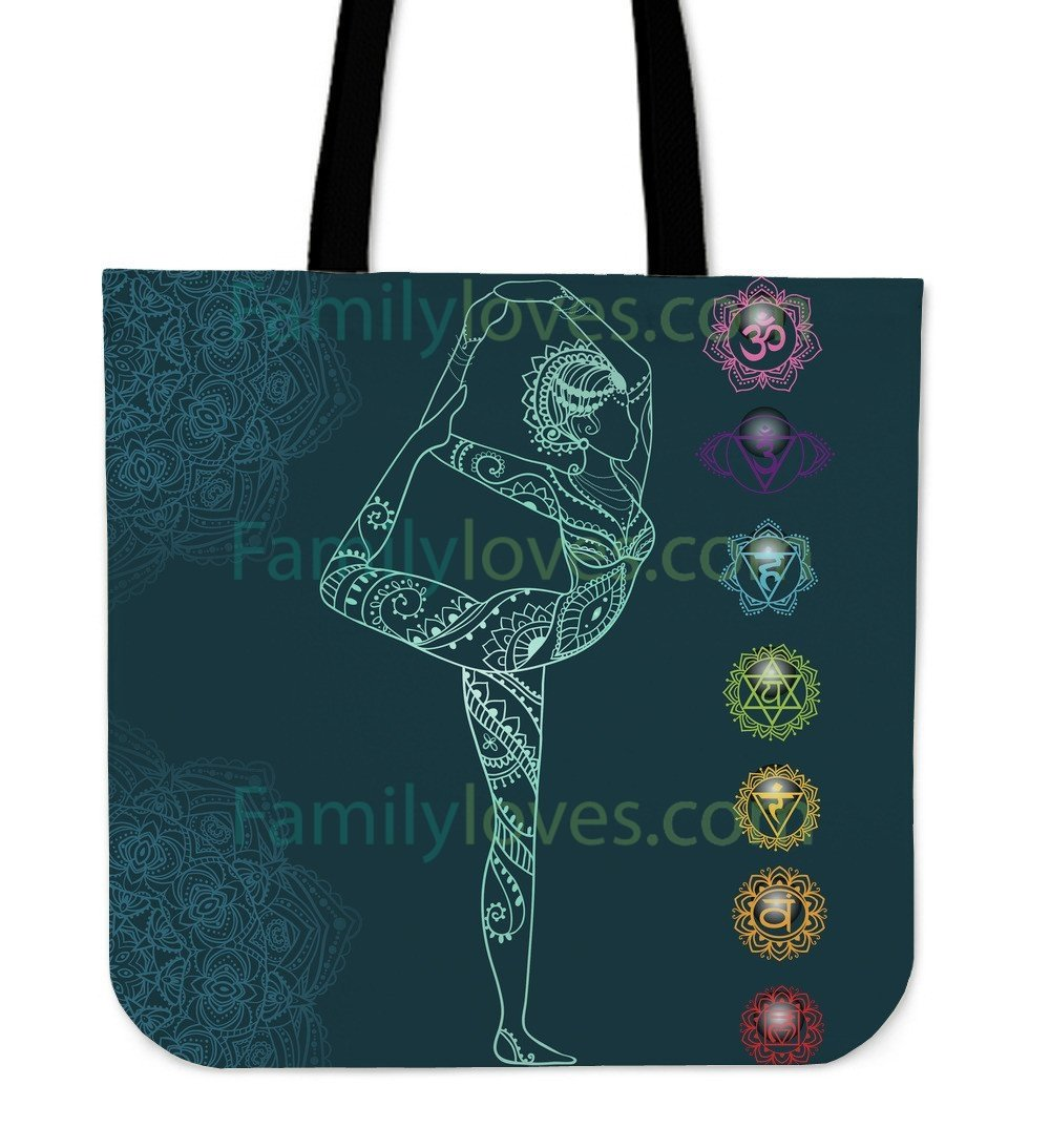 Full Lord of the Dance Yoga Tote Bags