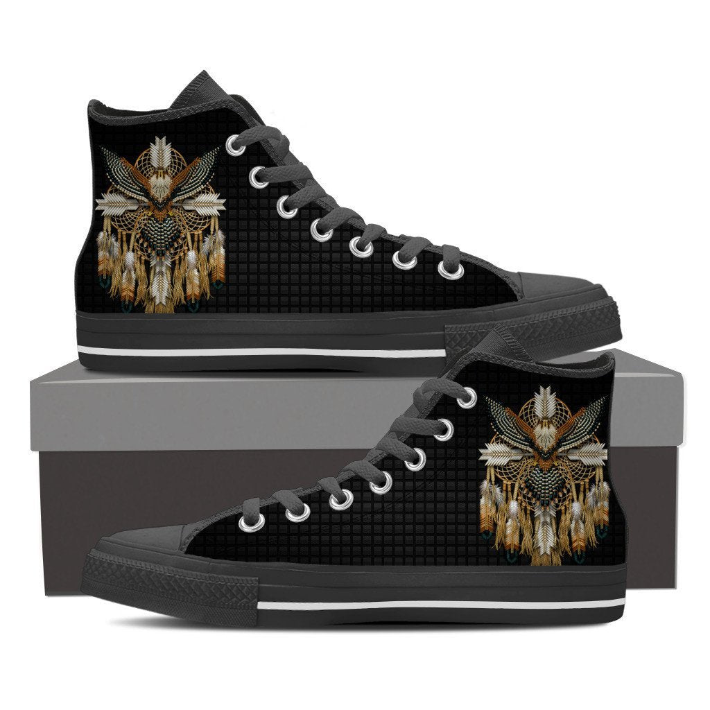 Buy NATIVE AMERICAN DREAMCATCHER HIGH SHOES - Familyloves hoodies t-shirt jacket mug cheapest free shipping 50% off