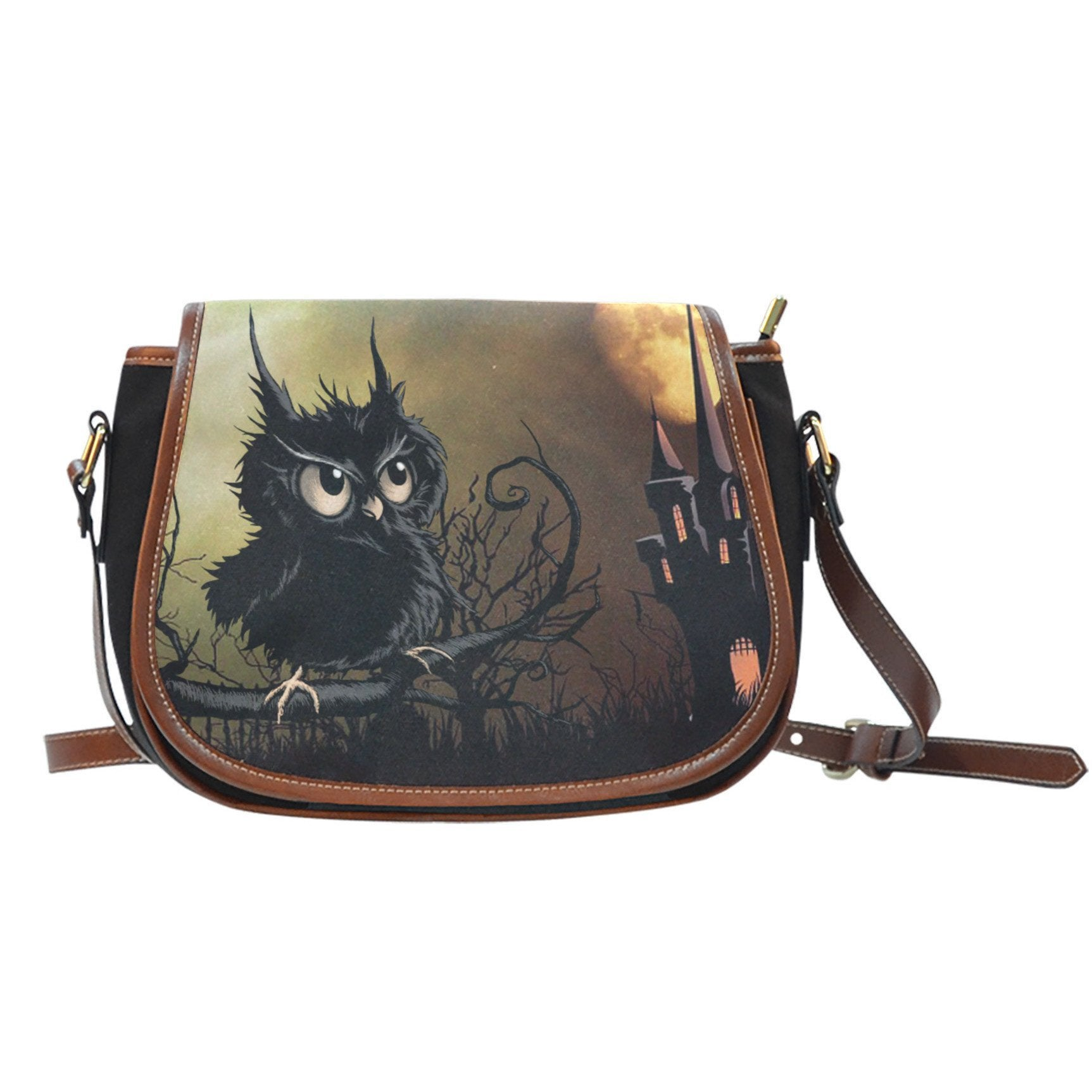 Buy NATIVE AMERICAN  OWL SADDLE BAGS - Familyloves hoodies t-shirt jacket mug cheapest free shipping 50% off