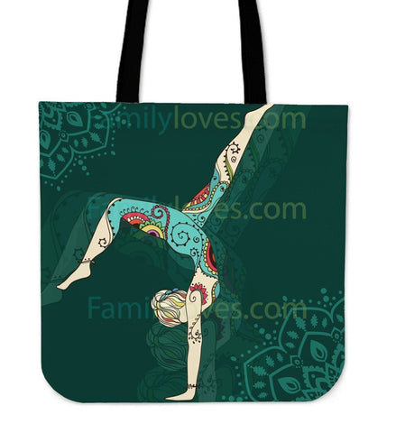 Handstand Yoga Tote Bags  Bag, Bags, carthook_checkout, tote bag, Tote Bags, yoga- Nichefamily.com