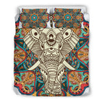 Mandala Elephant 3 Bedding Set.  - Nichefamily.com