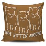Kitten Pillow Brown  - Nichefamily.com