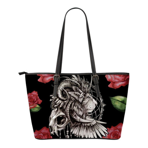 Native American Lion Dreamcatcher Small Leather Bags  bag, Bags, carthook_checkout, native, small bag, small bags- Nichefamily.com