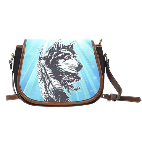 NATIVE AMERICAN WOLF SADDLE BAGS  BAG, BAGS, carthook_checkout, NATIVE, NATIVE AMERICAN WOLF SADDLE BAGS, WOLF SADDLE BAGS- Nichefamily.com