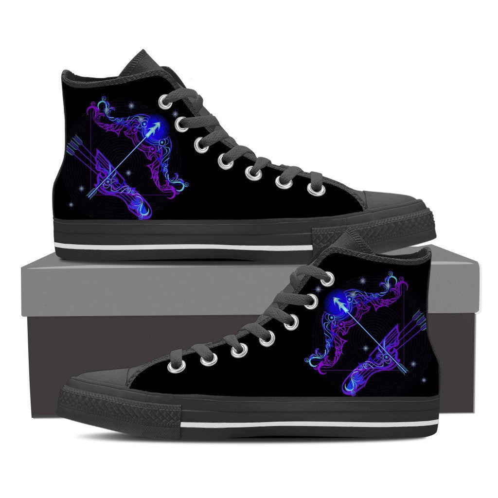Buy SAGITTARIUS HIGH SHOES - Familyloves hoodies t-shirt jacket mug cheapest free shipping 50% off