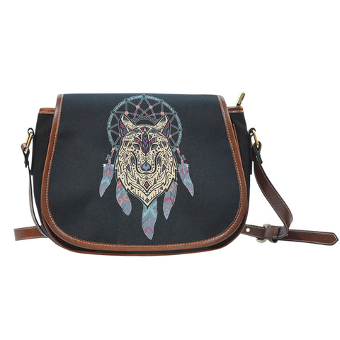NATIVE DREAMCATCHER SADDLE BAG  BAG, carthook_checkout, DREAMCATCHER BAG, NATIVE, SADDLE BAG- Nichefamily.com