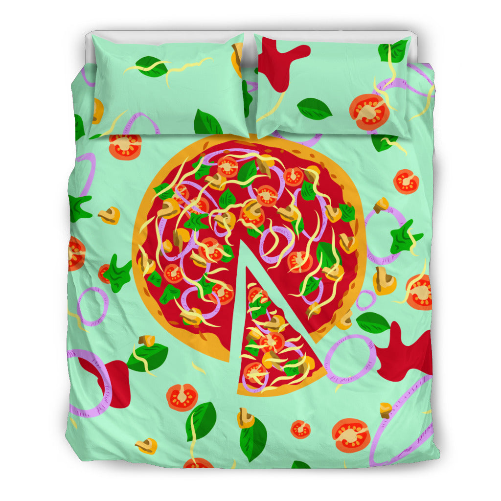 Pizza bedding set, light version