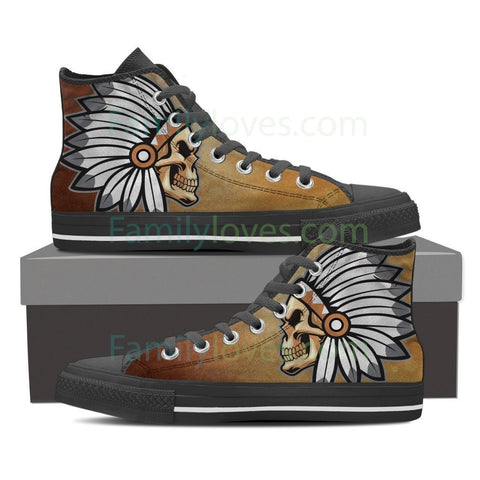 Native American skull shoes Shoes carthook_checkout, meta-size-chart-shoes-size-guide, native, native shoes, shoes, skull- Nichefamily.com