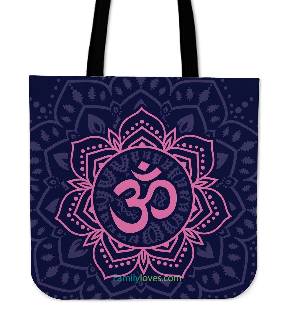 Mantra Yoga Tote Bags For Women