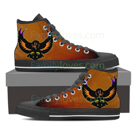 Native American Raven High Shoes Shoes carthook_checkout, meta-size-chart-shoes-size-guide, Native, Native American Raven High Shoes, Shoe, Shoes- Nichefamily.com