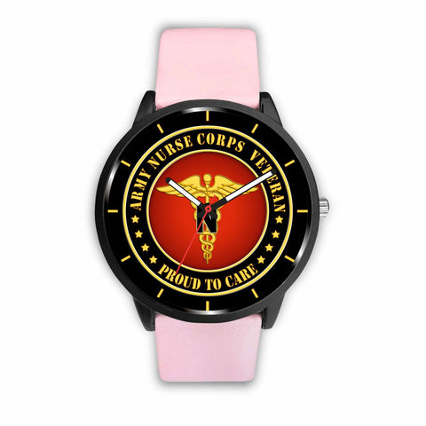 Army nurse corps veteran - proud to care watch Watch carthook_armyjacket, carthook_checkout, meta-related-collection-women-veteran, NURSE, veteran, veterans day, vietnam, vietnam veteran, vie