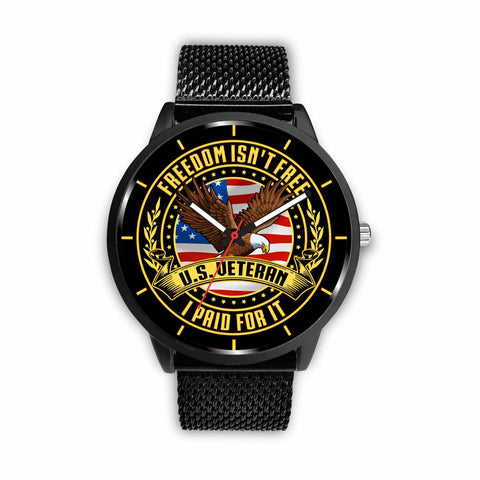 Freedom isn't free I paid for it United States veteran-watch Watch carthook_checkout, meta-related-collection-veterans, meta-related-collection-watches, meta-related-collection-women-veteran,