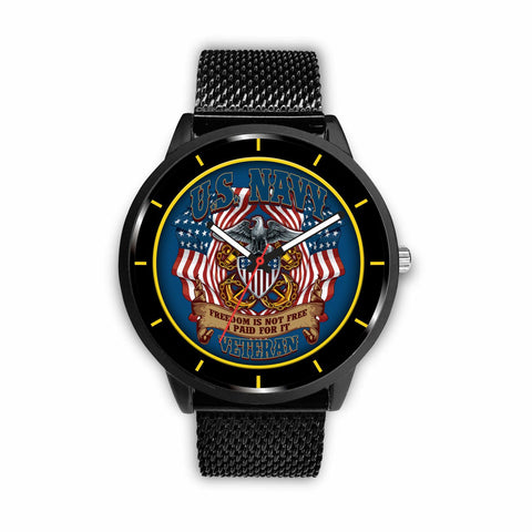 U.S. Navy freedom is not free i paid for it veteran-watch Watch carthook_checkout, carthook_navy, meta-relate-collection-u-s-navy-seals, meta-related-collection-veterans, meta-related-collect