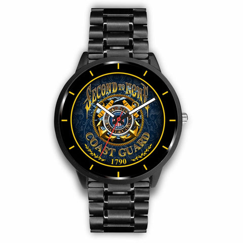 Second to none coast guard 1790 Watch carthook_checkout, COAST GUARD, meta-related-collection-coast-guard, meta-related-collection-women-veteran, veteran, veteran day, watch, watches- Nichefa
