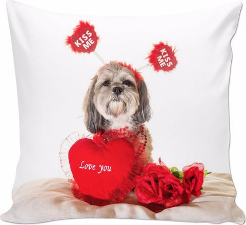 Shih tzu kiss me pillow Couch Pillows carthook_checkout, RageOn Connect, rspid8540002632- Nichefamily.com