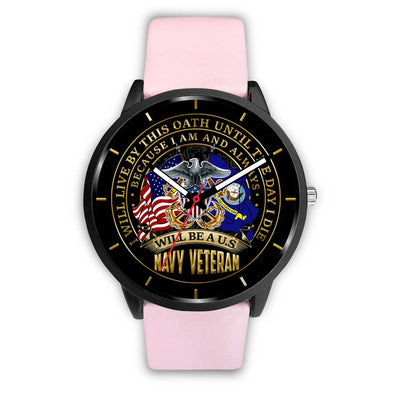 I WILL LIVE BY THIS OATH UNTIL THE DAY I DIE BECAUSE I AM AND ALWAYS WILL BE A U.S NAVY VETERAN WATCH