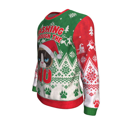 Buy Dashing Through The NO UGLY CHRISTMAS SWEATER - Familyloves hoodies t-shirt jacket mug cheapest free shipping 50% off