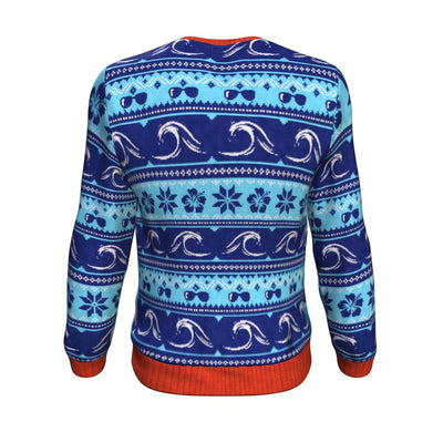 Jingle Bells Surfing Swells UGLY CHRISTMAS SWEATER