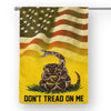Don't Tread On Me House Flag  House Flag- Nichefamily.com