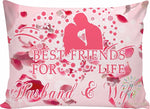 Husband & wife - best friends for life pillow Pillow Cases carthook_checkout, RageOn Connect, rspid8452922184- Nichefamily.com