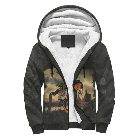 walk tall as the trees... great spirit Sherpa Hoodie AOP Sherpa Hoodie - Nichefamily.com