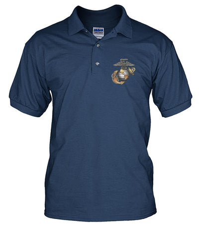 U.S MU.S MARINES CORPS, PROUD TO HAVE SERVED, SINCE 1775 polo Men's Polo