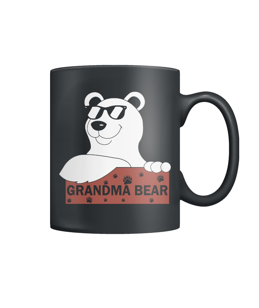 Gramma bear mug Color Coffee Mug