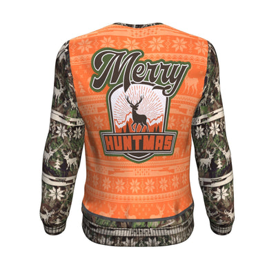 Buy Merry Huntmas UGLY CHRISTMAS SWEATER - Familyloves hoodies t-shirt jacket mug cheapest free shipping 50% off