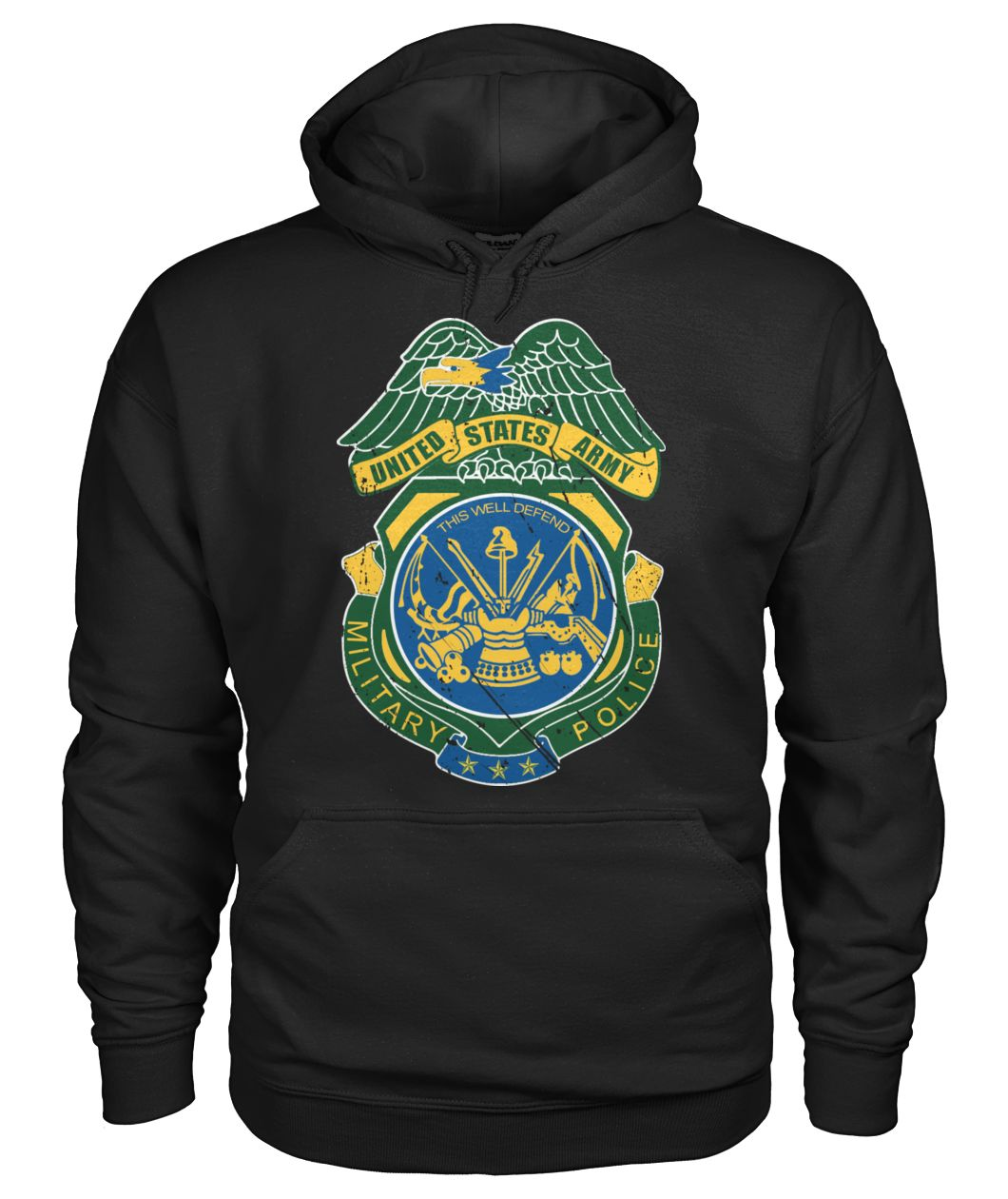 United States Army Military Police hoodie sweatshirt t-shirt
