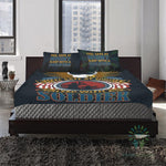 feel safe at night sleep with a soldier Bedding Set carthook_checkout- Nichefamily.com