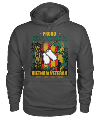 Proud Grandson of a Vietnam Veteran Men wp