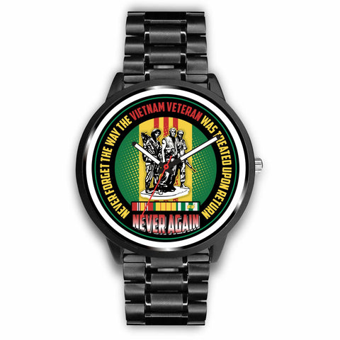 Never Forget The Way The Vietnam Veteran Was Treated Upon Return Watch Watch carthook_checkout, meta-related-collection-watches, meta-related-collection-women-veteran, veteran, vietnam, vietn