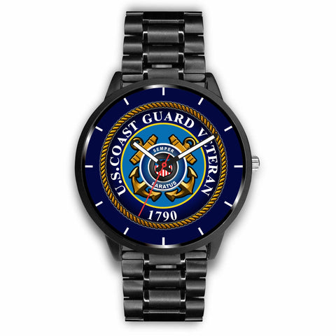 U.S COAST GUARD VETERAN WATCH Watch carthook_checkout, COAST GUARD, meta-related-collection-watches, meta-related-collection-women-veteran, veteran, vietnam veteran, vietnam veterans, watch,