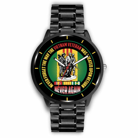 Never Forget The Way The Vietnam Veteran Was Treated Upon Return Watch v 2.0 Watch carthook_checkout, meta-related-collection-veterans, meta-related-collection-watches, meta-related-collectio