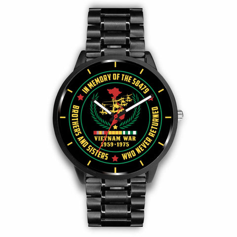 VIETNAM WAR 1959-1975, IN MEMORY OF THE 58,479 BROTHERS & SISTERS WHO NEVER RETURNED_ VIETNAM VETERAN WATCH Watch carthook_checkout, meta-related-collection-veterans, meta-related-collection-