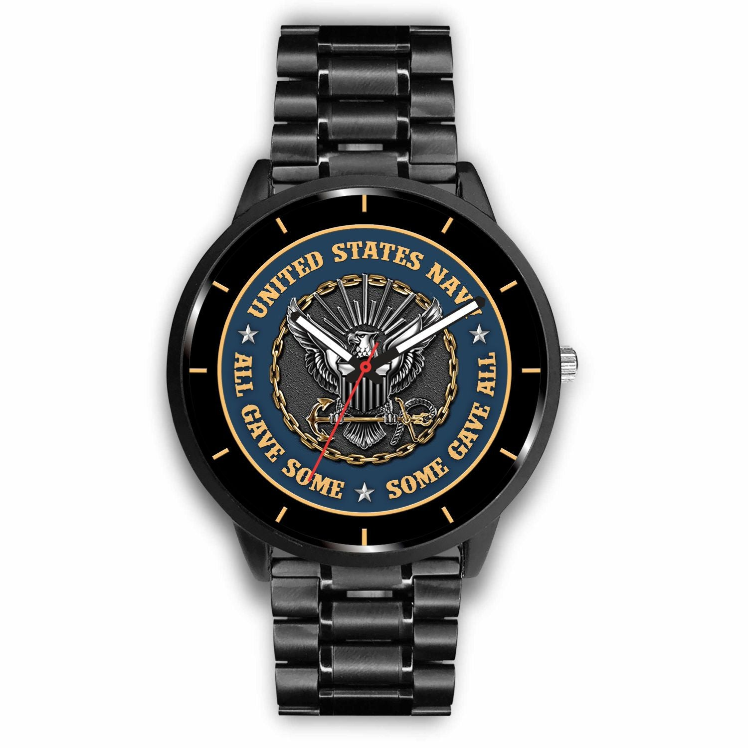Buy UNITED STATES NAVY, ALL GAVE SOME SOME GAVE ALL VETERAN WATCH - Familyloves hoodies t-shirt jacket mug cheapest free shipping 50% off