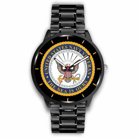 U.S NAVY VETERAN THE SEA IS OURS WATCH Watch carthook_checkout, carthook_navy, meta-relate-collection-u-s-navy-seals, meta-related-collection-watches, meta-related-collection-women-veteran, n