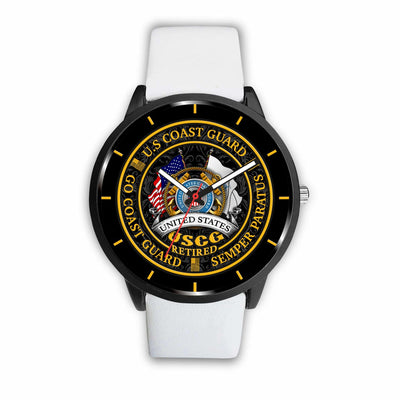 Buy U S COAST GUARD RETIRED, GO COAST GUARD SEMPER PARATUS WATCH - Familyloves hoodies t-shirt jacket mug cheapest free shipping 50% off