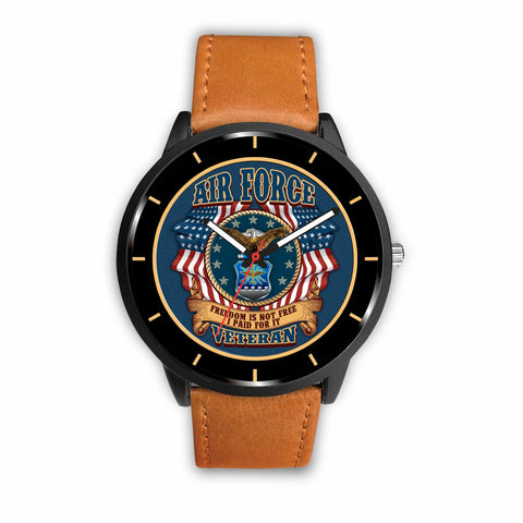 U S AIR FORCE VETERAN, FREESOM IS NOT FREE, I PAID FOR IT WATCH Watch air force, carthook_airjacket, carthook_checkout, meta-related-collection-air-force, meta-related-collection-women-vetera