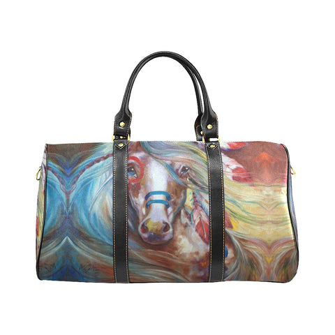 MELUSINEH Horse travel bag Travel Bags Bag, Bags, native, Native America, Native American, travel bag- Nichefamily.com